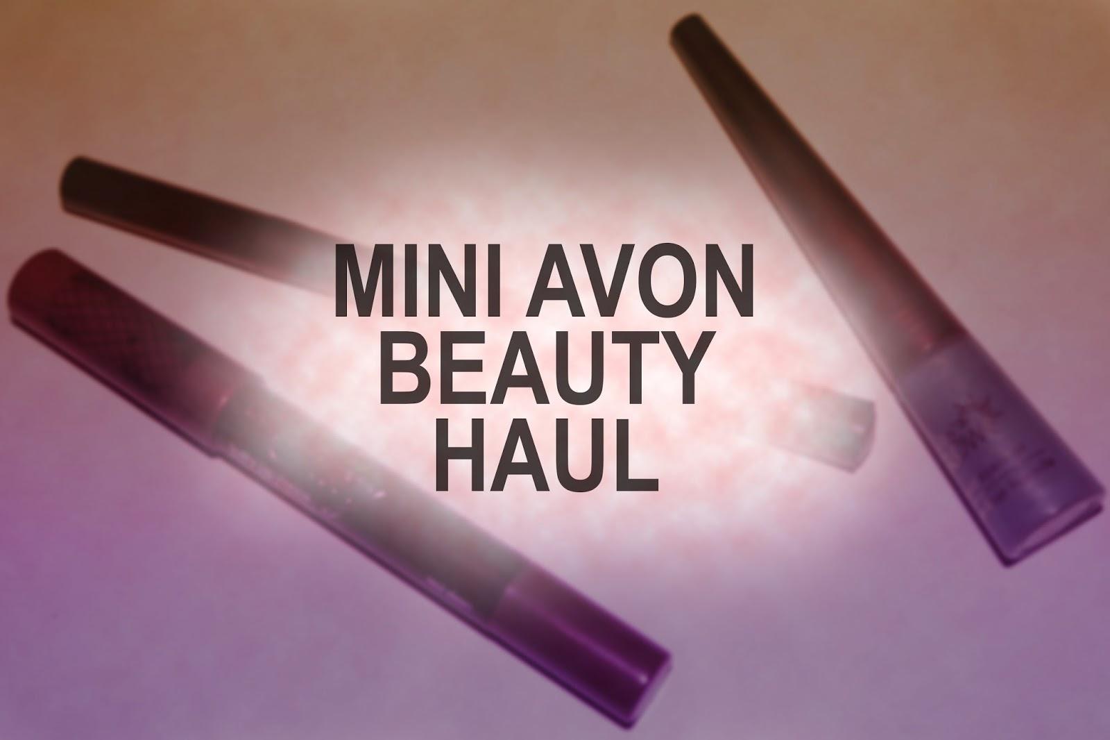 Tashika Bailey | Mini Avon Beauty Haul