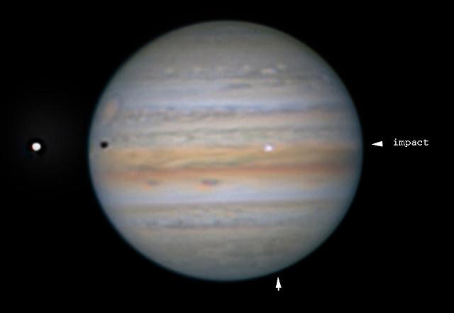 Nova Colisão em Júpiter - impacto em Júpiter 13 setembro 2021