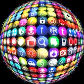 Social media hub Logo