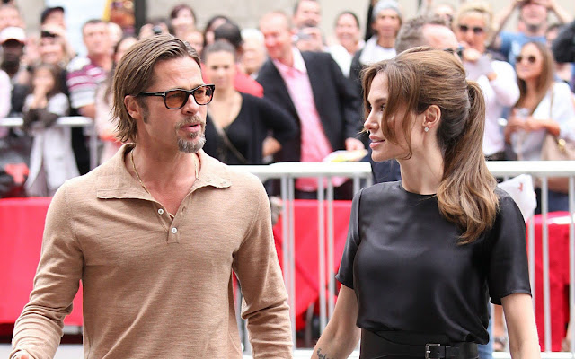 Angelina Jolie has been 'crushing'on Mystery Man since before Brad Pitt split