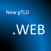 Graphic: new gTLD .WEB  © DomainMondo.com