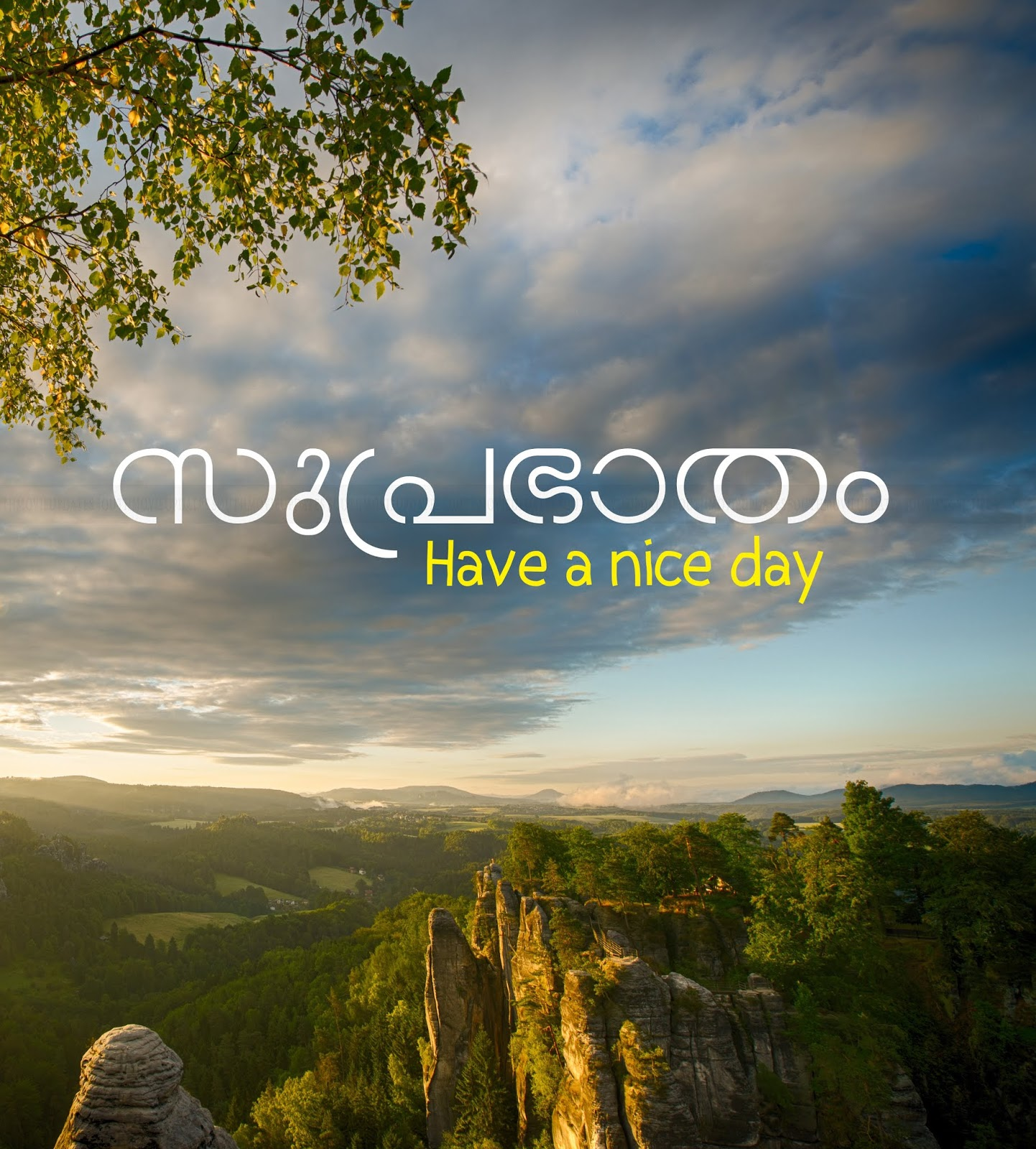 Beautiful Good Morning Wishes In Malayalam