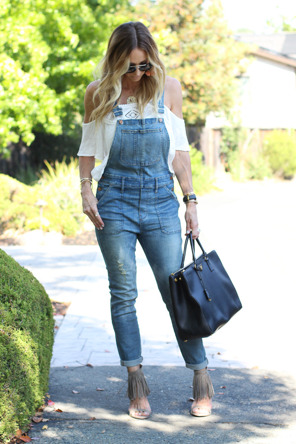 fitted overalls for women