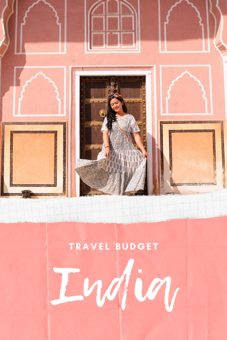 travel budget to india