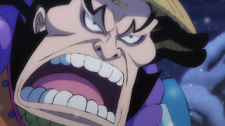 ワンピースアニメ 993話 ワノ国編   ONE PIECE 雷ぞう