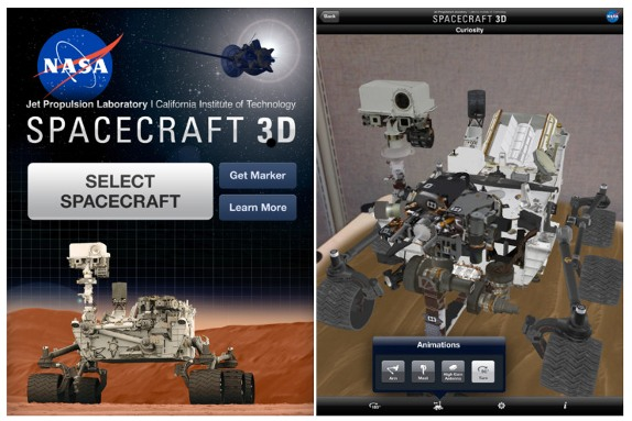 Download NASA Spacecraft 3D App for iPhone and iPad ...
