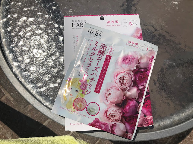 Haba Rose Honey & Milk Ceramide Masks | bellanoirbeauty.com