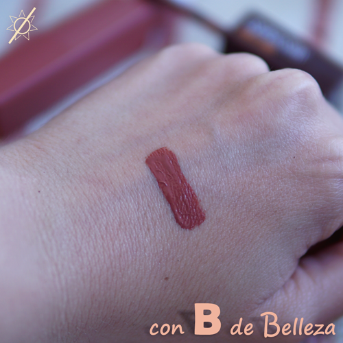 Swatch Coffee edition Maybelline Matte ink