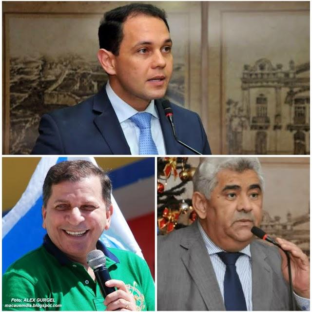 IRREVERSÍVEL: LUIZ ALMIR, AROLDO E KLEBER SERÃO REELEITOS