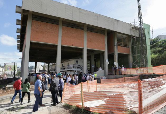 Nova estação Francisco Morato está a cada dia mais perto da conclusão; diz Baldy