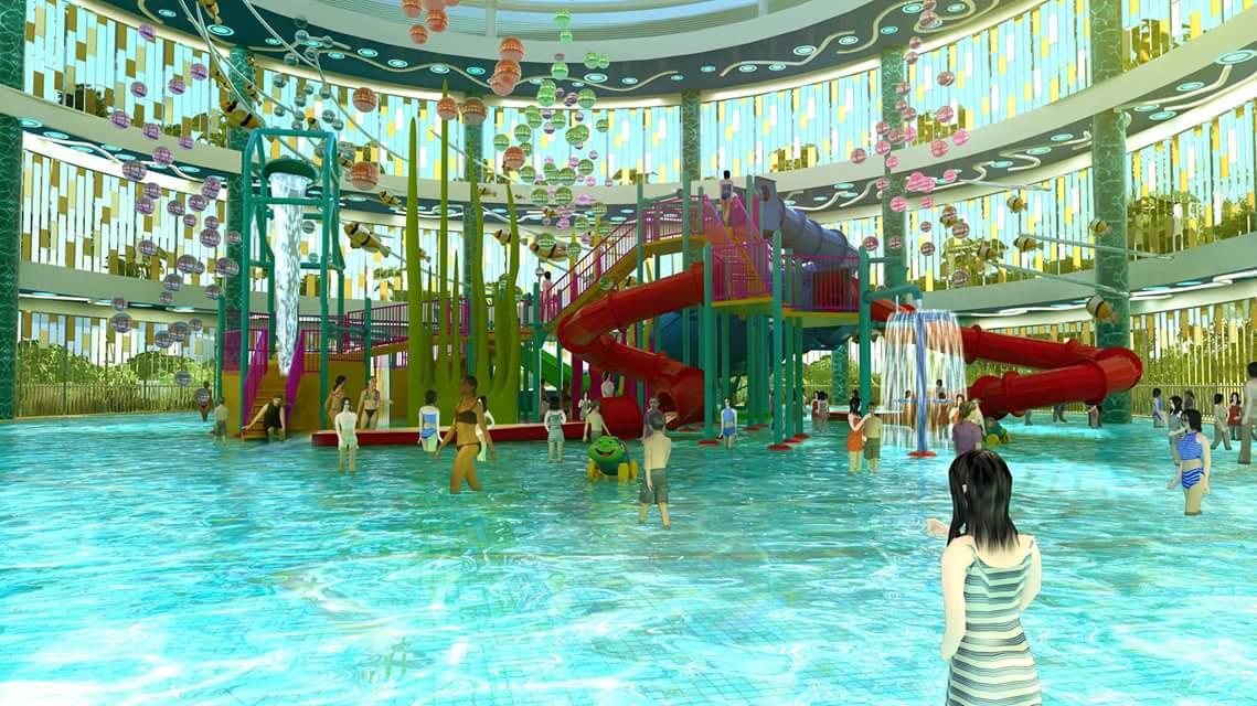 Vodkarouge Indoor Water Playground At Safra Punggol