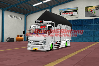 Mod Bussid truck Souleh ART Bak terpal