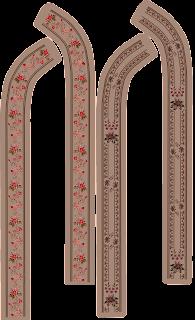 Traditional Neck Border Design for Suit Kurti 2738