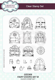 Willowby Woods Fairy Doors clear stamp set