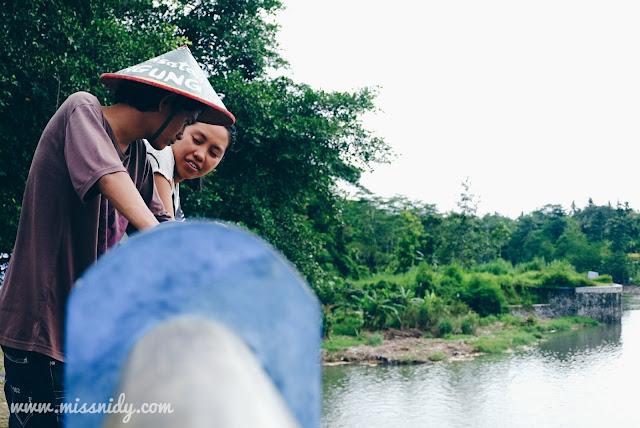 bendung tegal di desa wisata kebon agung jogja