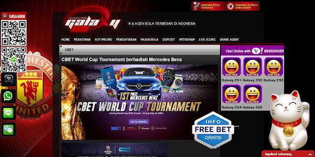 promo world cup cbet di galaxy88 dengan hadiah mobil mercedes benz