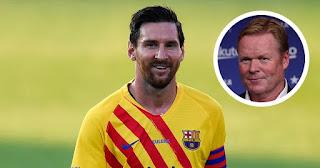 Leo Messi needs to improve physically: Barca boss Koeman