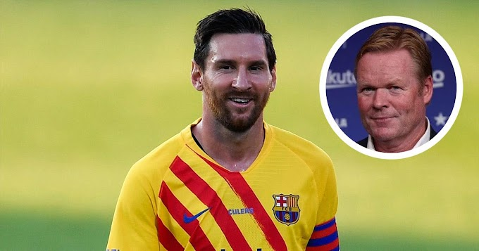Leo Messi needs to improve physically: Barca boss Koeman