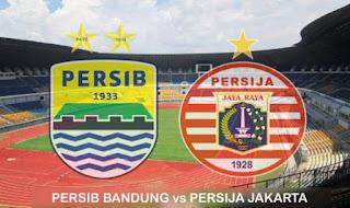 Jadwal Siaran Langsung Persib Bandung vs Persija Jakarta