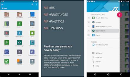 Aplikasi fx file explorer