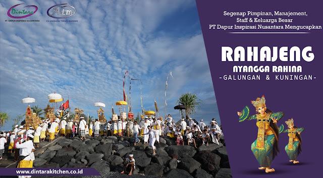 Ucapan Galungan Dan Kuningan di Bali
