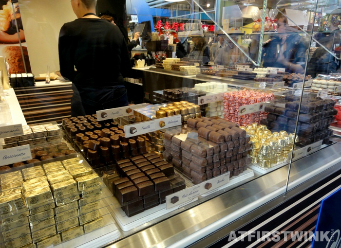 chocolate bonbons | Markthal in Rotterdam
