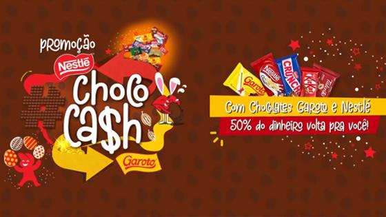 Promoção Nestlé e Garoto Chococash