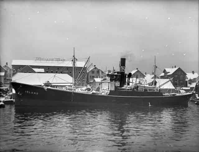 Norwegian freighter Island, sunk on 5 December 1941 worldwartwo.filminspector.com