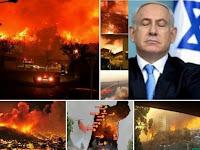 Israel Awalnya Sengaja Membakar Untuk Perluas Wilayah, Tapi Allah Balas 'MEMBAKAR' Mereka