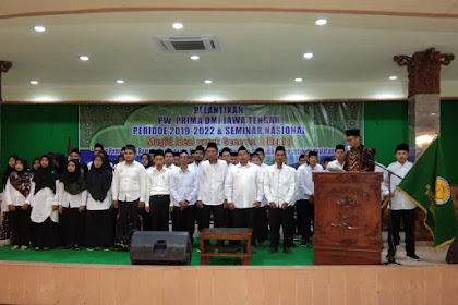 PW PRIMA DMI Jateng Dilantik, Ahsan Canangkan Gerakan Masjid Bersih