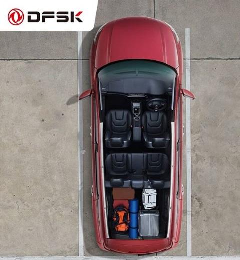 Tampilan Kabin Mobil SUV DFSK Glory 580