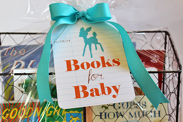 Ink About Me Baby Shower Gift Basket