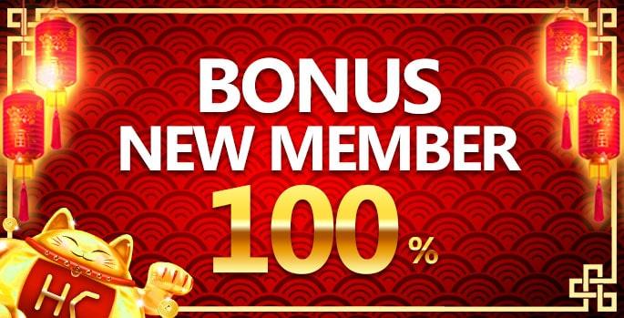 hokicash bonus new membe 100%