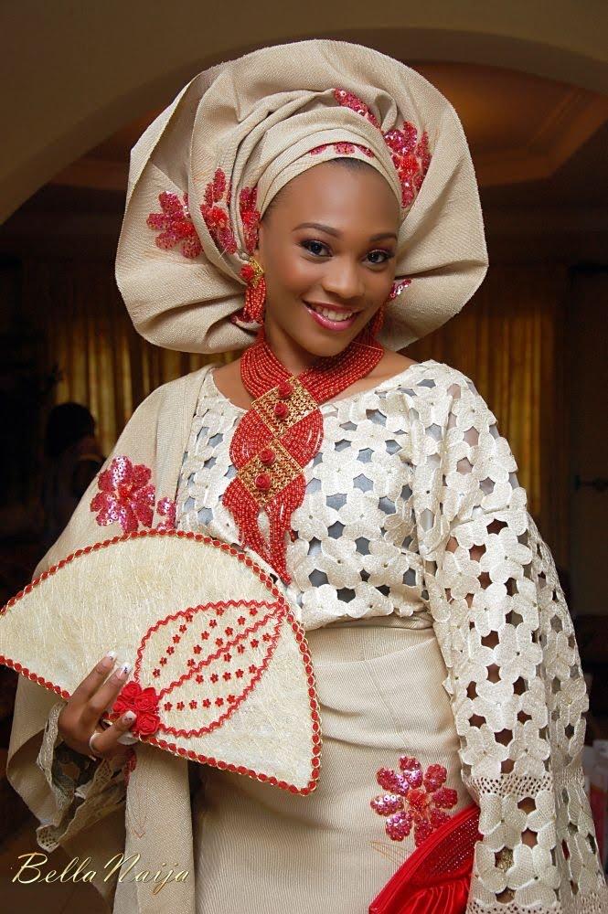 Reflexions: Nigerian Bride - Proudly African (Fashion Friday)