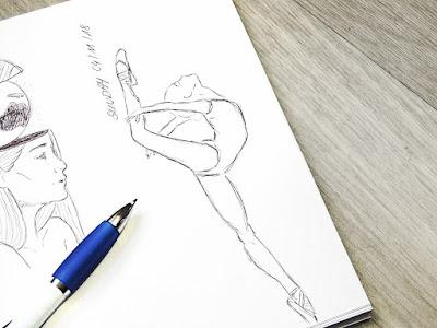 Bullet Journal sketching