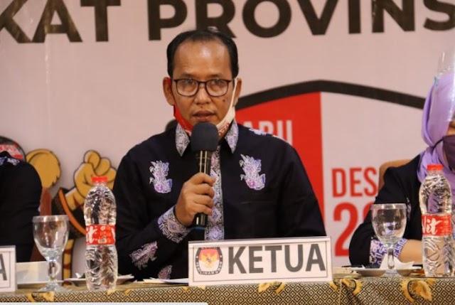 Ketua KPU Provinsi Jambi Tanggapi Mundurnya M Sanusi