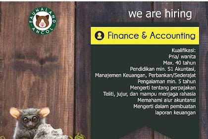 Info Lowongan Kerja Finance Accounting Fauna Land Ancol Jakarta