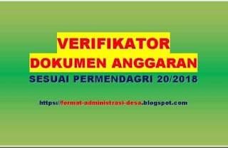 """<img src=""""https://1.bp.blogspot.com/-crWi0CAIaNc/XPFC6b-mdBI/AAAAAAAAA9U/PZvhUzSMOk8tNnQOQyp_M3antcTz1VlTQCLcBGAs/s320/verifikator-dokumen-anggaran.jpg"""" alt=""""verifikator dokumen anggaran sesuai permendagri 20 tahun 2018""""/>"""