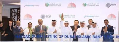 Source: Nasdaq Dubai. Mohamed Abdulla Al Nahdi, Deputy Chief Executive of Dubai Islamic Bank (DIB), has rung the market-opening bell to celebrate the listing of a US$1 billion sukuk by DIB on Nasdaq Dubai.