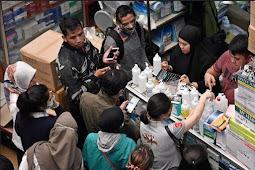 Dulu Ramai Sekarang Sepi !!! Beginilah Nasib Pedagang Masker Di Pasar Kesehatan...Menyesal Nimbun