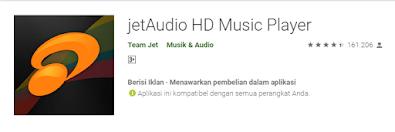 jetaudio pemutar musik Aplikasi Player Musik Offline Gratis Terbaik di Android