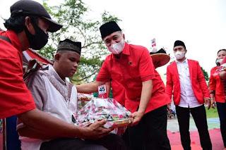 HUT Ke-48, DPC PDIP Batu Bara Rayakan Dengan Kegiatan Bermanfaat