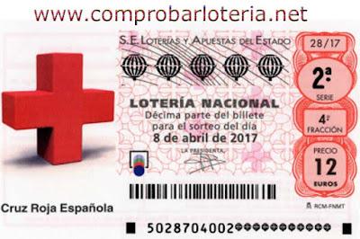 loteria nacional sorteo 28 especial de la cruz roja sabado 8 de abril de 2017