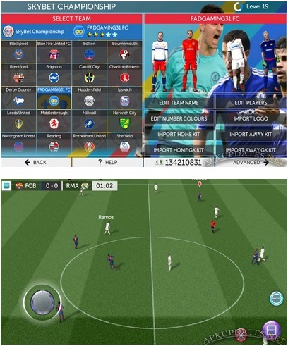 New Update Download Games FTS 2017 Mod Apk+Data Obb For Android Free