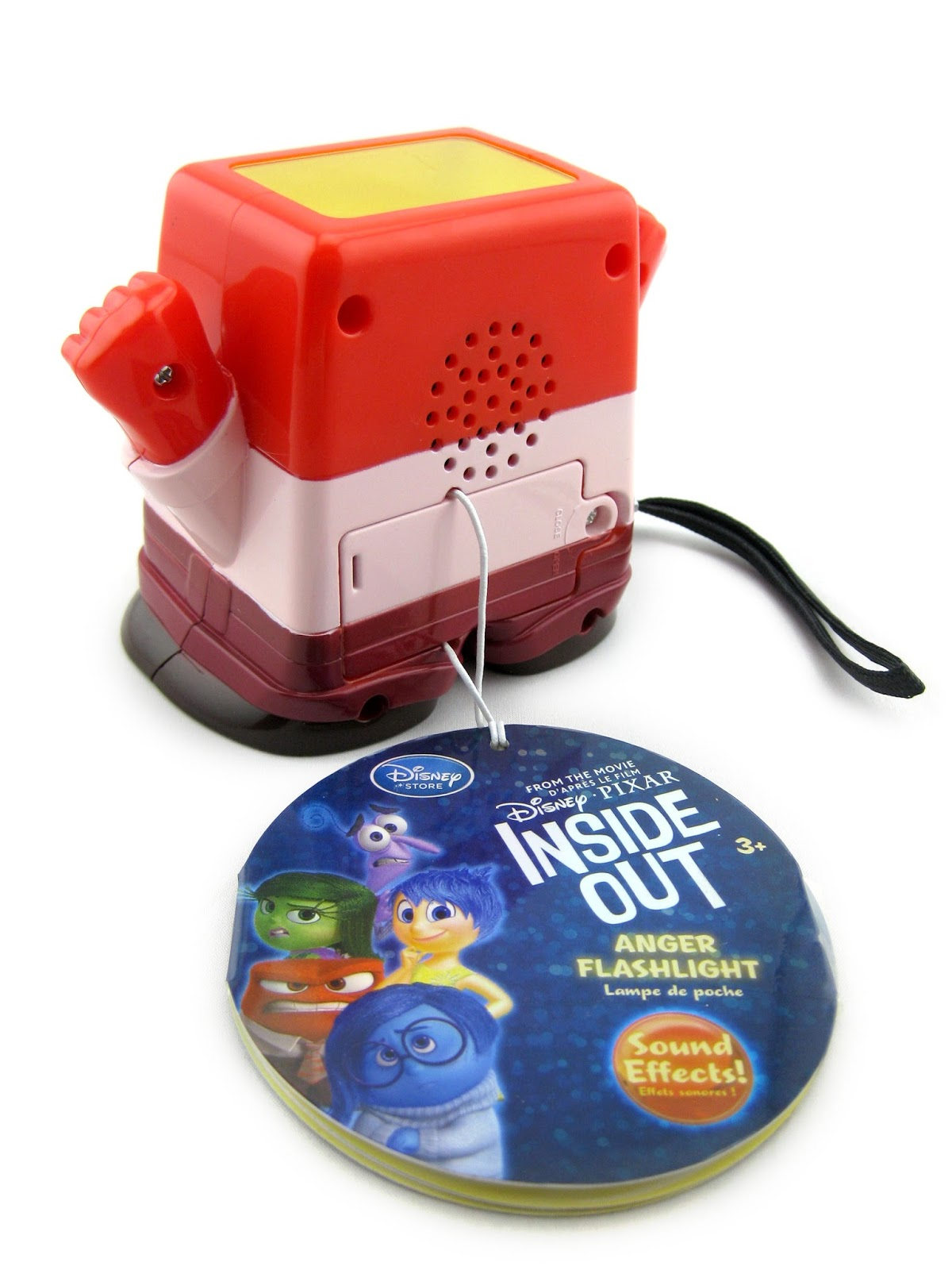 Inside Out Anger Talking Flashlight