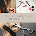 Tips to Take Care of Dry Hair