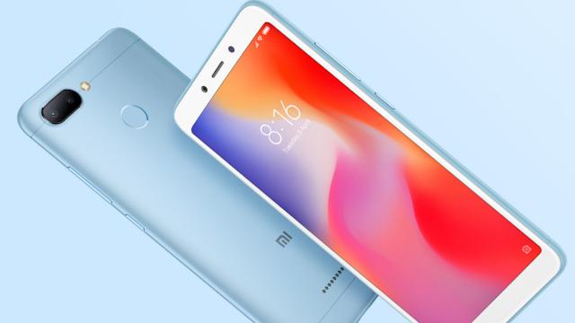 HP Xiaomi Redmi 6, Pas untuk Hadiah Tahun Baru