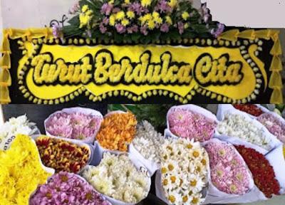 toko bunga mawar, bunga pengantin, ucapan duka cita dll di Tangsel