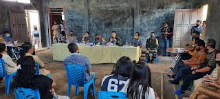 Masyarakat Desa Karimbow Sampaikan Aspirasi Kepada PT SEJ