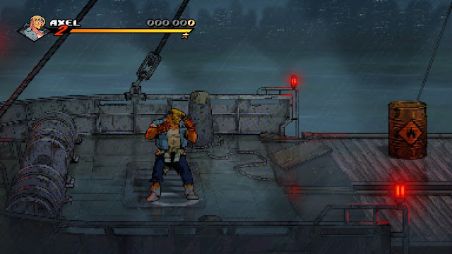 Streets of Rage 4 - Modo retro